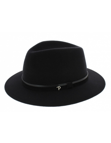 Chapeau Panizza bellamy Potenza noir